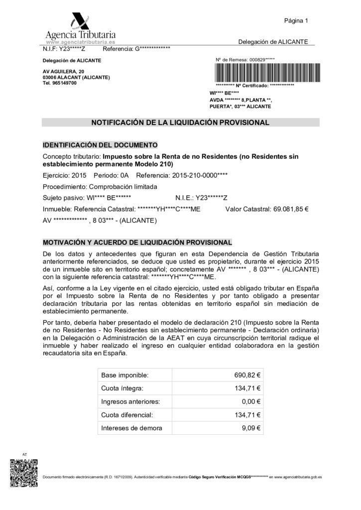 TAX COMPLIANT IN SPAIN