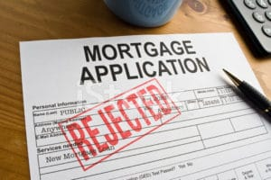 MORTGAGE DECLINED